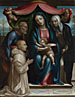 Sodoma: 'The Madonna and Child with Saints and a Donor'