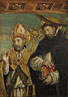 Giovanni Martino Spanzotti: 'Saint Peter Martyr and a Bishop Saint (Saint Evasio?)'