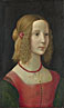 Workshop of Domenico Ghirlandaio: 'Portrait of a Girl'