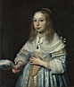 Bartholomeus van der Helst: 'Portrait of a Girl'