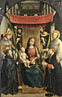 Gerolamo Giovenone: 'The Virgin and Child with Saints and Donors'