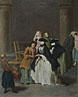 Pietro Longhi: 'A Fortune Teller at Venice'