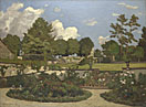 Henri-Joseph Harpignies: 'The Painter's Garden at Saint-Privé'