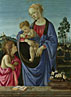 Filippino Lippi: 'The Virgin and Child with Saint John'