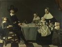 Attributed to Michiel Nouts: 'A Family Group'