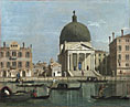 Follower of Canaletto: 'Venice: S. Simeone Piccolo'