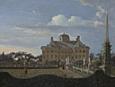 Jan van der Heyden: 'The Huis ten Bosch at The Hague'