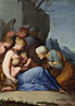 Lubin Baugin: 'The Holy Family with Saints and Angels'