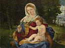 Andrea Previtali: 'The Virgin and Child with a Shoot of Olive'
