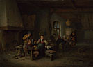 Adriaen van Ostade: 'The Interior of an Inn'
