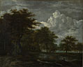 Follower of Jacob van Ruisdael: 'The Skirts of a Forest'