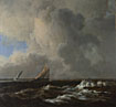 Jacob van Ruisdael: 'Vessels in a Fresh Breeze'