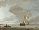 Jan van de Cappelle: 'A Small Dutch Vessel before a Light Breeze'