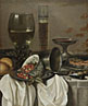 Pieter Claesz.: 'Still Life with Drinking Vessels'