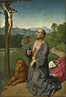 Workshop of Gerard David: 'Saint Jerome in a Landscape'