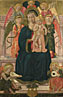 After Benozzo Gozzoli: 'The Virgin and Child Enthroned with Angels'
