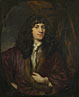 Nicolaes Maes: 'Portrait of a Man in a Black Wig'