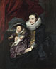 Anthony van Dyck: 'Portrait of a Woman and Child'