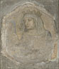 Workshop of Pietro Lorenzetti: 'A Crowned Female Figure (Saint Elizabeth of Hungary?)'