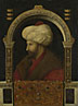 Attributed to Gentile Bellini: 'The Sultan Mehmet II'