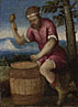 Style of Bonifazio di Pitati: 'The Labours of the Months: April'