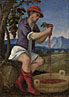 Style of Bonifazio di Pitati: 'The Labours of the Months: September'