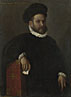 Giovanni Battista Moroni: 'Portrait of Leonardo Salvagno (?)'