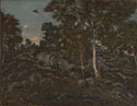 Antoine-Louis Barye: 'The Forest of Fontainebleau'