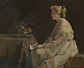 Alfred Stevens: 'The Present'