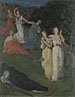 Pierre-Cécile Puvis de Chavannes: 'Death and the Maidens'