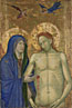 Italian, Florentine: 'The Dead Christ and the Virgin'