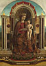 Gentile Bellini: 'The Virgin and Child Enthroned'