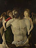 Giovanni Bellini: 'The Dead Christ supported by Angels'