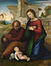 Fra Bartolommeo: 'The Virgin adoring the Child with Saint Joseph'