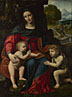 Bernardino Luini: 'The Virgin and Child with Saint John'