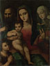 Andrea and Raffaello del Brescianino: 'The Madonna and Child with Saints'