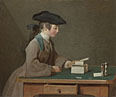 Jean-Siméon Chardin: 'The House of Cards'