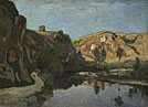 Henri-Joseph Harpignies: 'River and Hills'