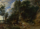 Peter Paul Rubens: 'The Watering Place'