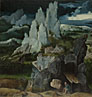 Attributed to the Workshop of Joachim Patinir: 'Saint Jerome in a Rocky Landscape'