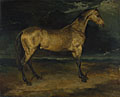 Jean-Louis-André-Théodore Géricault: 'A Horse frightened by Lightning'