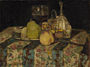 Adolphe Monticelli: 'Still Life: Fruit'