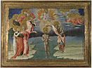 Giovanni di Paolo: 'The Baptism of Christ: Predella Panel'