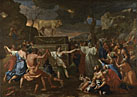 Nicolas Poussin: 'The Adoration of the Golden Calf'