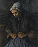 Paul Cézanne: 'An Old Woman with a Rosary'