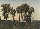 Henri-Joseph Harpignies: 'Autumn Evening'