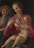 Follower of Pontormo: 'The Madonna and Child with the Infant Baptist'