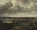 Philips Koninck: 'An Extensive Landscape with a Town'