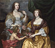 Anthony van Dyck: 'Lady Elizabeth Thimbelby and her Sister'