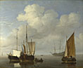 Willem van de Velde: 'Dutch Ships in a Calm'